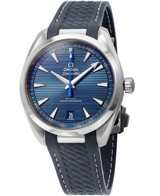 AAA fake watches are showy for blue seconds hands.